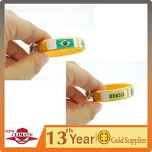 2014 world cup fans bracelet with 3D logo