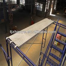 7' 8' 10' อลูมิเนียมไม้กระดานนั่งร้านที่ใช้สำหรับการก่อสร้าง
