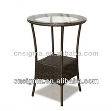 2014 Outdoor Wicker Bar Table Small Coffee Table