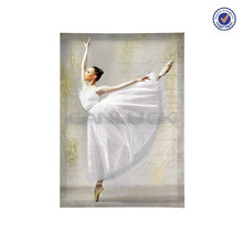 Dance Girls Painting/ Ballet Dancer Oil Painting/ Ballerina Painting