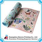 coloring children sticker books printing