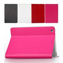 newest design fashion colorful for ipad leather case for Ipadmini 2
