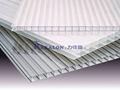 Polymère toit feuille transparente