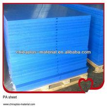 UV resistant transparent nylon sheet