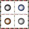 Nouveau pour lentilles de contact de parti cosmétique couleur / annuel couleur lentilles de contact