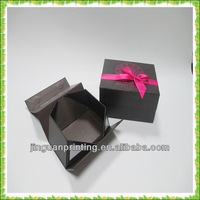Chocolate foldable matte paper packaging box