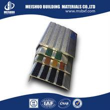 Flexible anti slip anodized aluminium stair nosing in stair parts
