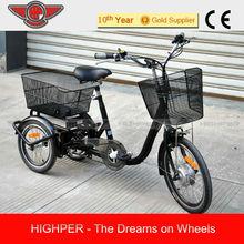 2014 Electric Tricycle, 3 wheel Electric Bicycle (EL08)