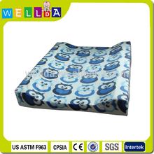 custom print PVC diaper waterproof padded baby changing mat