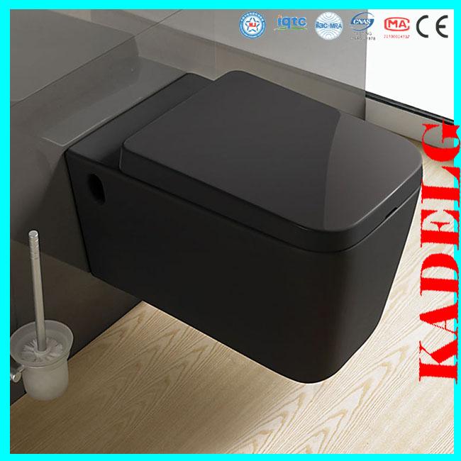 Modern design square ceramic black toilet bowls buy - Latest toilet bowl design ...