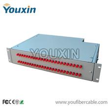 12/24/48 port rack mount 19 fiber optic odf