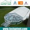 Clear tent, transparent tent
