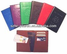 Colored PVC Passport Cover
