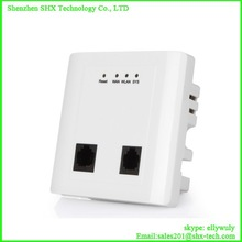 wifi wall mount access point OEM ODM wireless access point with POE power supply for hotel