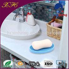 Promotional cheap corner soap dish holders oval shape