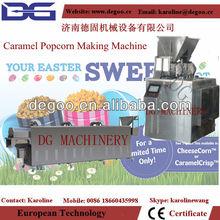 automatic Cretors technology caramel chocolate flavored industrial popcorn maker