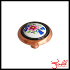 Antique kitchen furniture decorative knobs ceramic