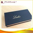 real mink strips eyelashes with custom package box thick looking natural false eyelash
