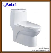 Ceramic one piece sanitary portable indoor toilet