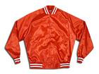 Red Silk Jacket/Satin Varsity jacket/Ladies satin jacket/Football jacket/soccer jacket