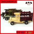Artesanía de madera artesanía de camiones de juguete y coches