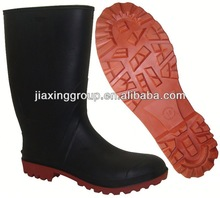 Comfortable Injection boots red thigh high for outdoor and promotion,light and comforatable