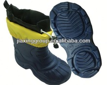 Comfortable Injection rubber rain boots vulcanizer for outdoor and promotion,light and comforatable