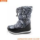 Waterproof rain boots/Fake fur lined warm boots