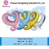 Cartoon shape balloon weeding decorations