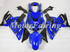 for kawasaki fairing kit zx14 2008 2006 2007 2009 ZZ-R1400 06-09 bodykit zzr1400 fairing kit black flames blue ZX-14