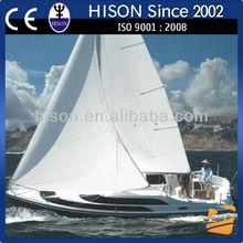 Hison 26ft Sailboat fiberglass fishing boat China manufactures