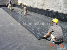 SBS modified bitumen torched on flat roofing membrane