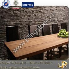 Decorative grey slate Z brick stone