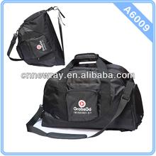 Large Multi-function High Quality Nylon Plain Travel Sport Duffel Bag