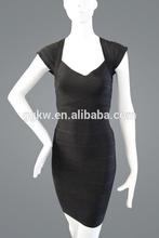 تصميم جديد السيدات مكتب فساتين العباءة لباس 2014 صبغ الملابس السوداء