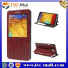 Red Crocodile View Window Leather Stand Case Cover for Samsung Galaxy Note 3 N9000 N9002 N9005