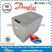 40L portable micro SECOP compressor mini car fridge