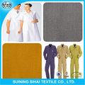 Construcción tackle impreso stretch tela de sarga de algodón