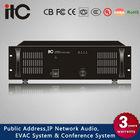 1-Channel Stereo Power Amplifier of 70V, 100V and 4-16ohm Speaker OutputsT-6350