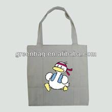 2014 Cheap Casual Plain Heavy Duty Cotton Canvas Shopping Tote Bag