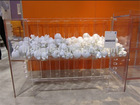 wholesale modern crystal furniture acrylic Baby Crib,Lucite baby cradle from china factory