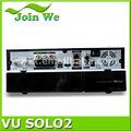 2014 vu+ solo2 décodeur double tuner hd linux vu solo 2 1300 mhz dvb-s2 twincouverture vu solo2 samsat récepteur satellite numérique hd