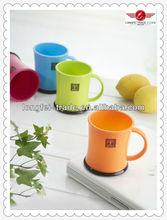 2014 yüksek grad toptan plastik çay bardak ve tabaklar toplu