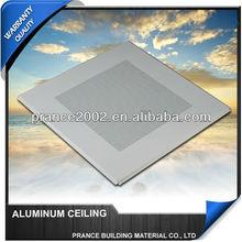 Acoustic decorated perforated aluminium ceiling list