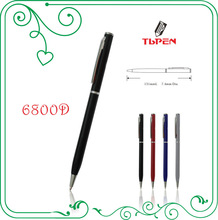 refillable promotional ballpoint pen with logo printing 6800D