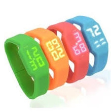 LED Watch+ silicon bracelet usb flash drive 512MB/1GB/2GB/4GB/8GB/16GB/32GB/64GB USB flash drive