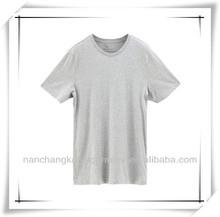 China manufacturer men plain blank t-shirt in bulk