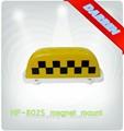 dc 12v magnético de taxi techo la luz taxi superior cúpula