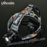 10-Watt Cree T6 Led Headlight Headlamp XM-L T6 Battery Powered Led Headlight Head Lamp Cree Led Motorcycle Light
