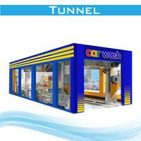 tunnel car wash equipment FD12-2A,car wash tunnel